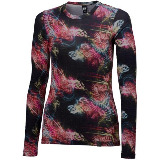 HELLY HANSEN Wool Graphic LS női aláöltözet
