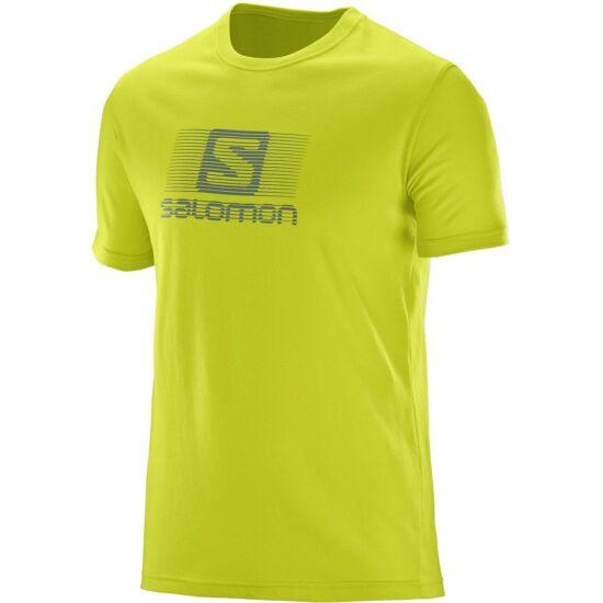 SALOMON Blend Logo SS Tee férfi póló