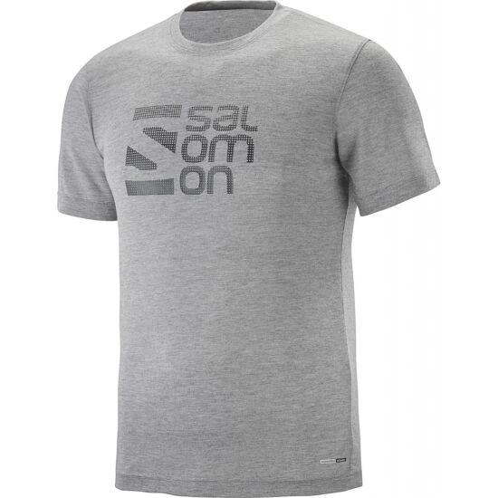 SALOMON Explore Graphic SS Tee férfi póló
