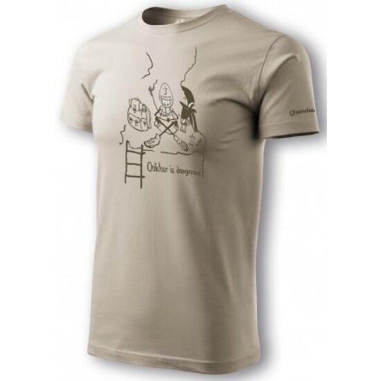 SANDSTONE Tea-Time férfi póló