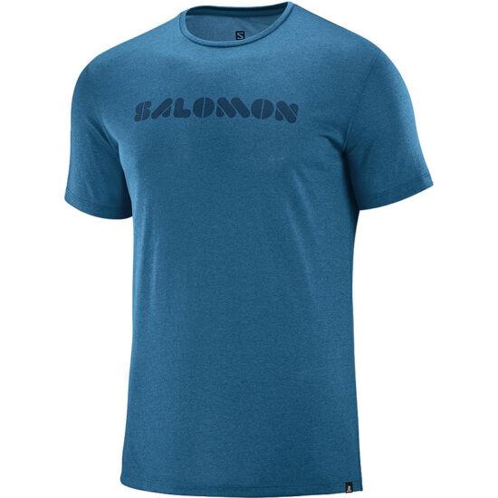 SALOMON Agile Graphic Tee SS férfi póló