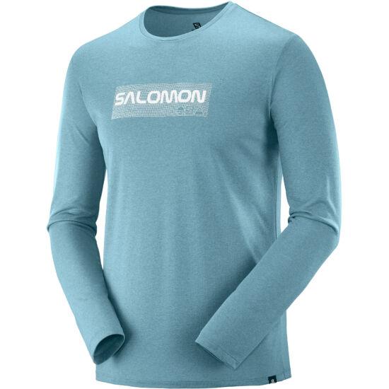 SALOMON Agile Graphic LS Tee póló
