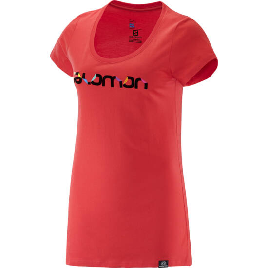 SALOMON Pleatplease SS Cotton Tee női póló