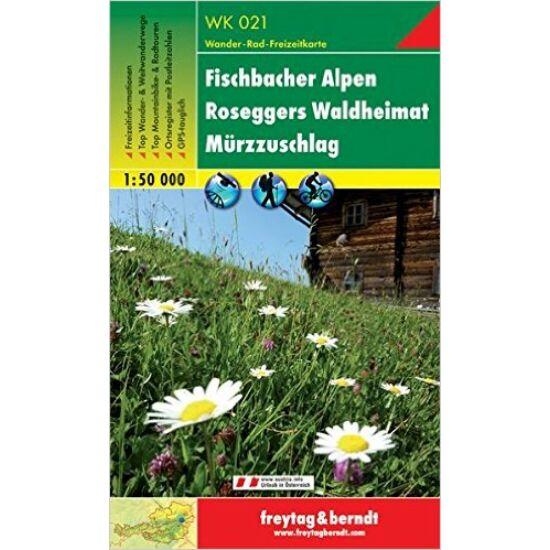 Fischbacher Alpen turistatérkép WK 021