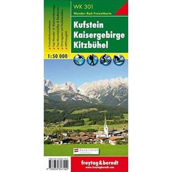 Dachstein, Ramsau turistatérkép WK 281